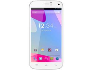 Blu Life One X 16GB L132L White 3G Quad-Core 1.5GHz Unlocked GSM Dual-SIM Android Cell Phone