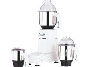 Preethi Eco Plus 3 Jar 550-Watt Mixer Grinder, 110 Volts