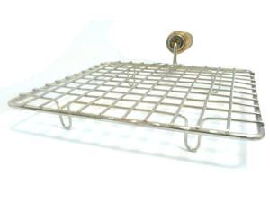 Tabakh Square Stainless Steel Wire Roaster Roti Jari, Papad Grill, Chapati Grill