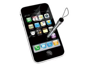 Konnet Essential 3-Pack Screen Protectors & 1 Stylus for iPhone 3G 3GS