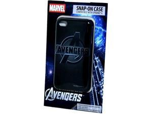 Marvel - The Avengers Logo #2 Snap On Case Apple iPhone 4 or 4S - Black