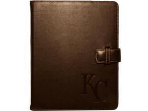 Tribeca - Kansas City Royals Leather Folio Case for Apple iPad 2 - Brown