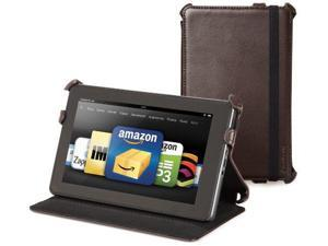 NEW Marware C.E.O Genuine Leather Case CEO Standing Cover for Kindle Fire BROWN