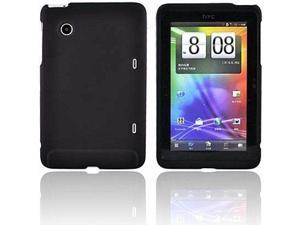 NEW Rocketfish Hard Shell Rubberized Case Back Cover HTC Flyer Tablet RF-CHFH2BN