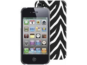 iPhone 4/4s PC case - Black Zebra