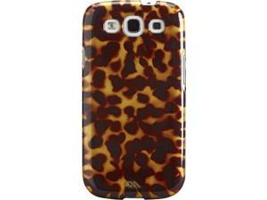 Case-Mate Tortoiseshell Case for Samsung Galaxy S III- Retail Packaging - Brown