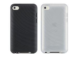 Belkin Essential 023 Case for Apple iPod Touch 4th Generation, 2 Pack (Blacktop/Clear)