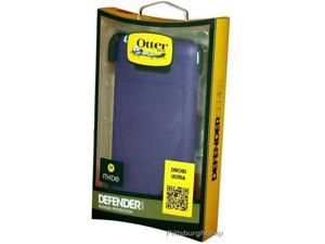 NEW OtterBox Defender Holster Case for Motorola DROID Ultra - Blue/Purple