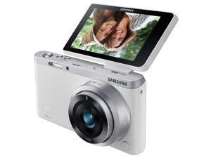 SAMSUNG NXmini white - digital camera + 9 mm lens