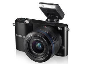 SAMSUNG NX1100 - black - Digital camera + 20-50 mm II lens