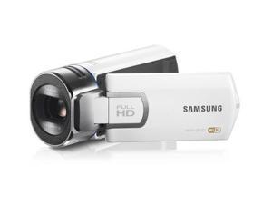 SAMSUNG QF30 high definition camcorder - white