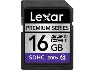 LEXAR SDHC Premium Series - Flash memory card - 16 GB - Class 10