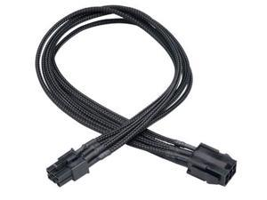 AKASA Power extension cable - 6 pin internal power (M) - 6 pin internal power (F) - 40 cm