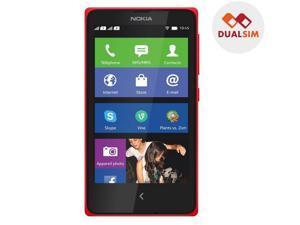 NOKIA X - red- Dual SIM smartphone