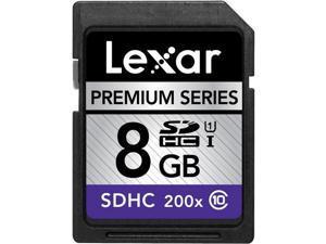 LEXAR Flash memory card - 8 GB - Class 10  (LSD8GBBBEU200C10)