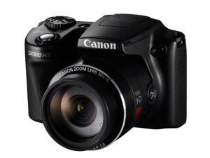 CANON SX510 HS - Digital camera - black