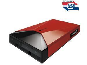 CORSAIR Voyager Air - Network drive - 1 TB - 2.5'' external portable hard drive - red