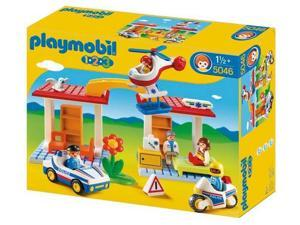 PLAYMOBIL 1.2.3 - 5046 - Hospital with emergency aid workers and police