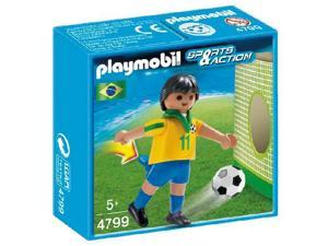 PLAYMOBIL Sports and Action - Football - Brazil team player - 4799