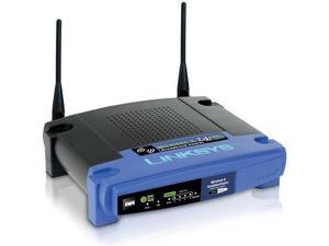 LINKSYS WRT54GL Push Button 54 Mbps Wireless Router with 4-port switch - Open Source Linux