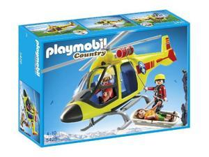 PLAYMOBIL Country - Mountain Rescue Helicopter - 5428