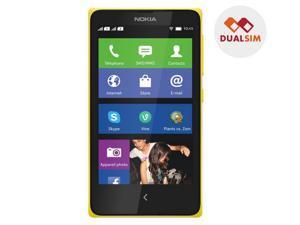 NOKIA X - yellow - Dual SIM smartphone