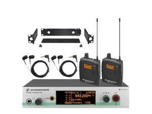 Sennheiser EW 300-2 IEM G3 (G-Band) Dual Wireless In Ear Monitor System