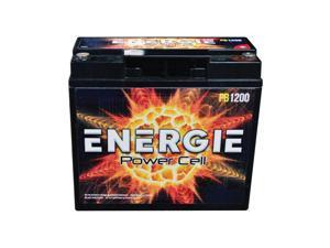 Energie PB1200E 1200 Watt 18 Amp Hour Car Audio Battery
