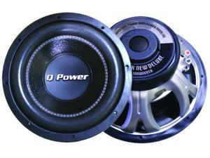 "Q Power DELUXEQP12 12"" 1500 Watt DVC Subwoofer"