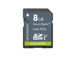 Promaster High Speed SDHC 366X Card - 8GB