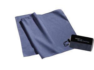 Cocoon ~ Microfiber Towel - Small,  Fjord Blue