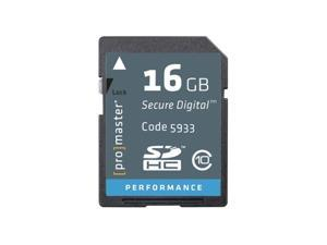 PRO Performance SDHC CLASS 10, 163X Memory Card - 16GB