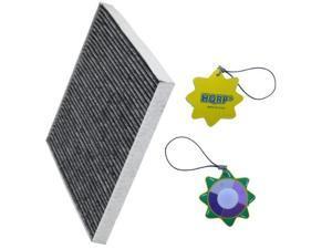 HQRP Carbon Cabin Air Filter for 3SF79-AQ000 / F784EB9AA / 19130294 plus HQRP UV Meter
