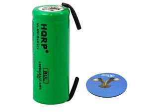 HQRP Battery for Braun Oral-B 3731, 3738, 3745, 3761, 3762, 4736, 5000, Professional Care Triumph plus HQRP Coaster