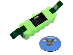 HQRP 3300mAh APS Battery for iROBOT Roomba 500 510 510 530 530 531 532 533 535 535 536 537 540 540 550 551 560 561 562 563 564 565 570 571 577 578 580 600 610 610 611 700 760 770 780 790 R3 + Coaster