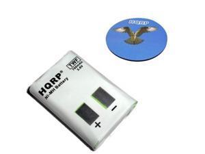 HQRP Two-Way Radio Battery for Motorola M53617 / 53617, KEBT-086-A, KEBT-086-B, KEBT-086-C, KEBT-086-D Replacement plus HQRP Coaster