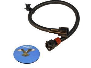 HQRP Knock Sensor Wiring Harness for Nissan / Infiniti / Mercury Cars, 2407931U01 / 24079-31U01 plus HQRP Coaster