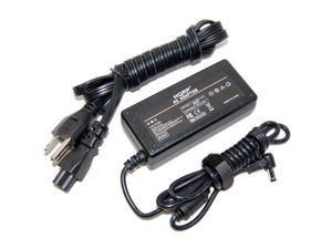 HQRP AC Adapter for MSI Wind 9S7 / L1300 / U90 / U100 / U200 / X300 / X400 / X600 Series plus HQRP Coaster