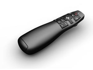 Rocktek RT-MWK14 Mini R900 2.4GHz Wireless Air Mouse Pointer Presenter for HTPC Android TV Box