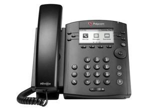 Polycom VVX 310 (2200-46161-025) 6-line Entry-Level Business Media Phone with Gigabit Ethernet