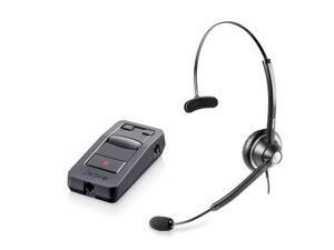 Jabra BIZ 1900 Mono NC Headset & Link 850 Amplifier w/ Pivoting Boom Arm