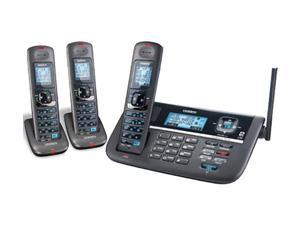 Uniden DECT4086-3 3 Handset Cordless Phone (2 Line) DECT 6.0 Wall Mountable New!