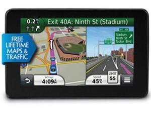 "GARMIN Nuvi 3590LMT Bluetooth Enabled 5.0"" GPS Navigation w/ Lifetime Traffic & Map Updates  (010-00921-02)"