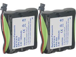 Panasonic Battery for Panasonic P501A (2-Pack) Panasonic HHR-P510