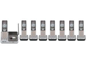 AT&T CL82501 + (3) CL80101 8 Handset Cordless Phone