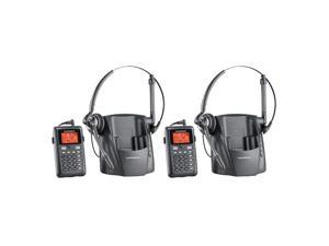 Plantronics CT14 2-Pack CT14 DECT 6.0 Cordless Telephone Headset Phone