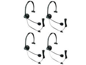 KX-TCA60 for Uniden Phones (4-Pack) Over the Head - Headset
