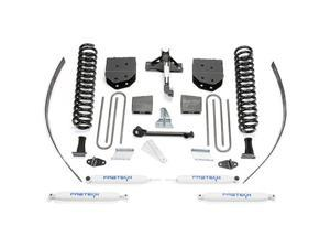 """Fabtech K2121 8"""" Basic System w/ Performance Shocks - 2008-13 Ford F250 4WD w/o Factory Overload"""