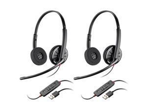 Plantronics Blackwire C320-2 BlackwireC320 Corded Headset