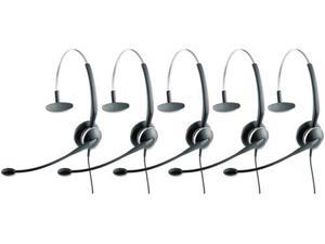 Jabra GN 2124 Mono NC 4-in-1 Headset w/ Pivoting Boom Arm (5 Pack)